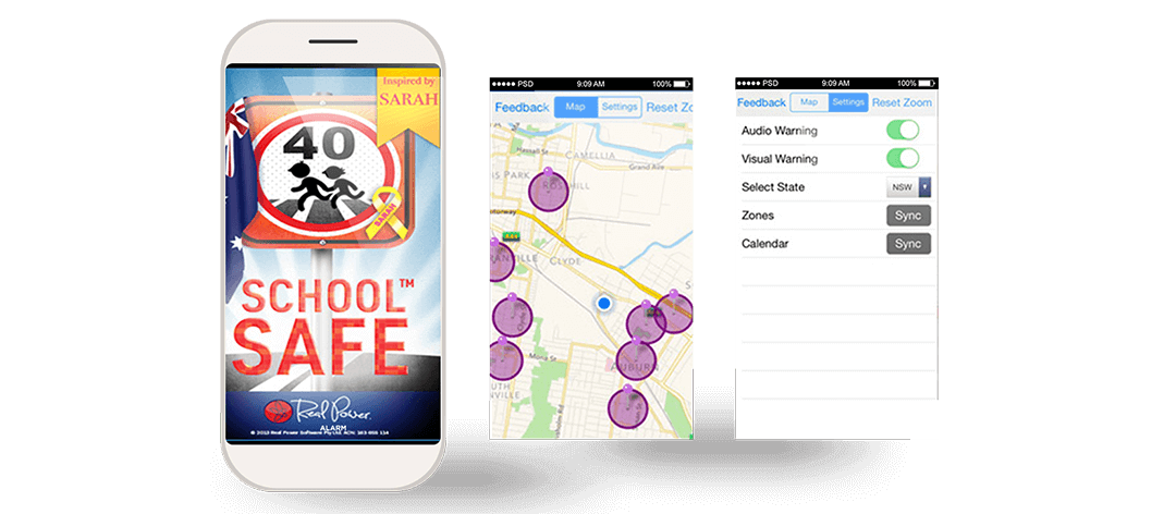 safe chool zone app